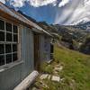 Bullendale Hut and Mount Aurum