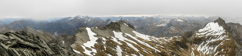 Panorama from Mt Aurum, looking west