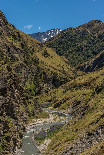 Skippers Creek and Mount Aurum