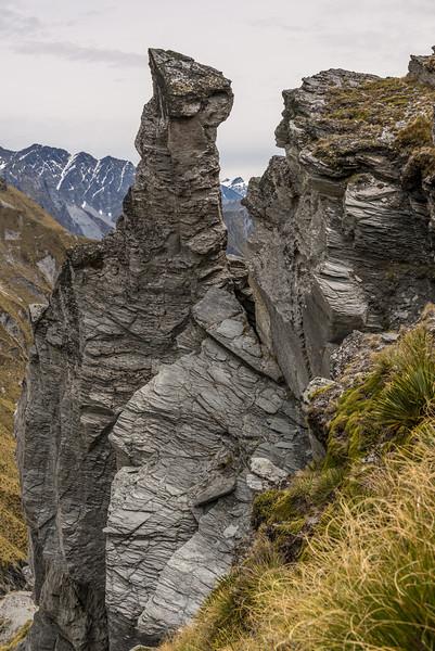 On Dandys Saddle, between Mount Aurum and Prince of Wales