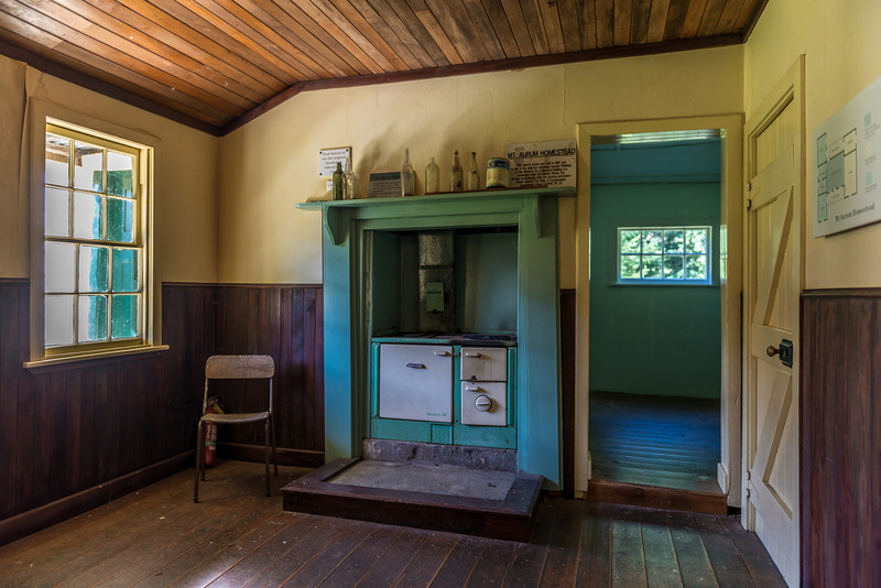 "Mount Aurum Homestead, Skippers Township. ""This Historic House was built in 1867 and is one of the only two remaining wooden buildings on the Reserve""."