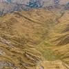 View into Aurum Basin and Aurum Creek from the summit of Mount Aurum