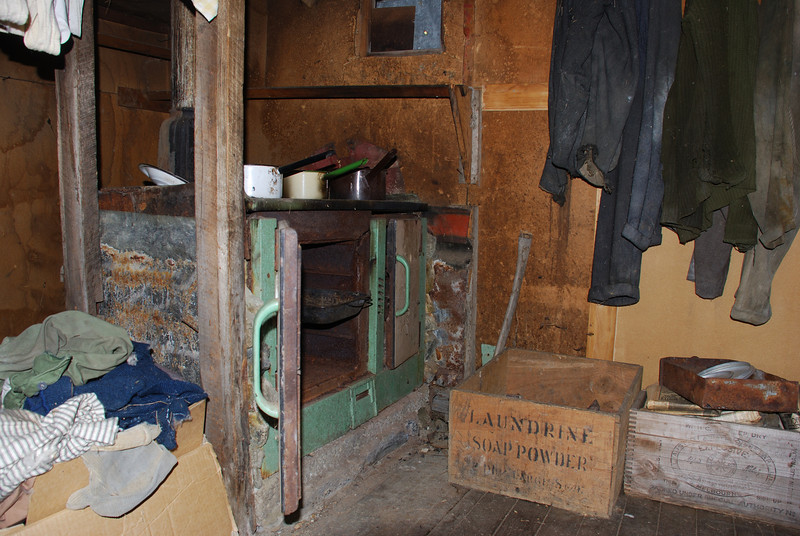 Bonnie Jean Hut interior