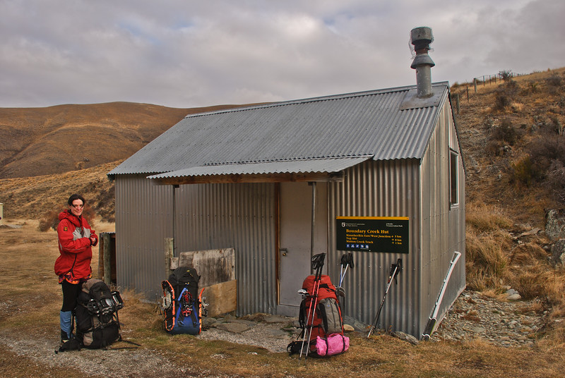 Boundary Creek Hut, Manuherikia River West Branch