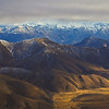 Dunstan Creek and the Chain Hills from Mt St Bathans