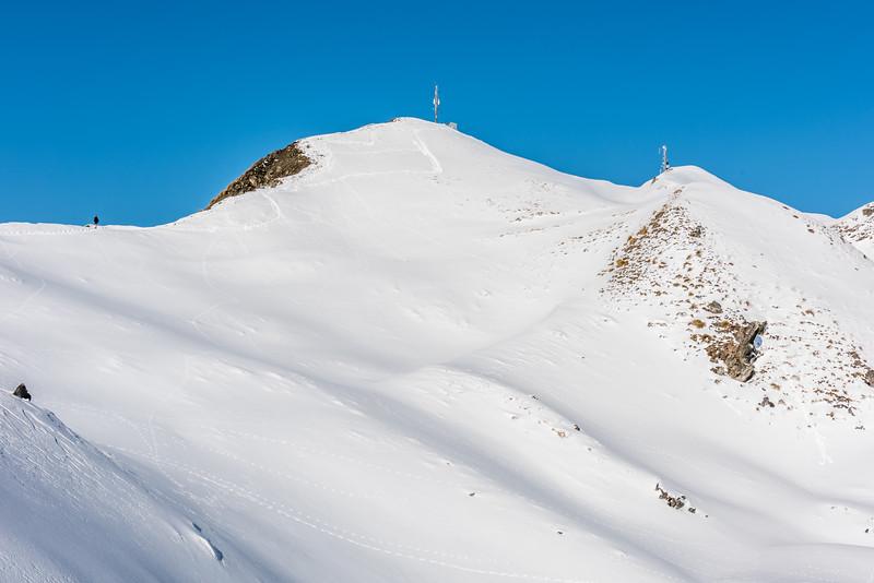 The summit of Roys Peak