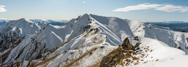 Roys Peak and Mount Alpha