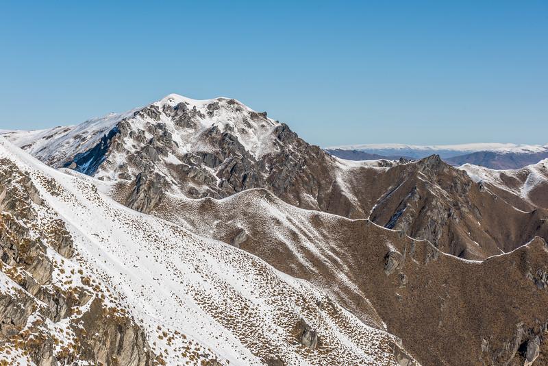 Mount Alpha from Roys Peak