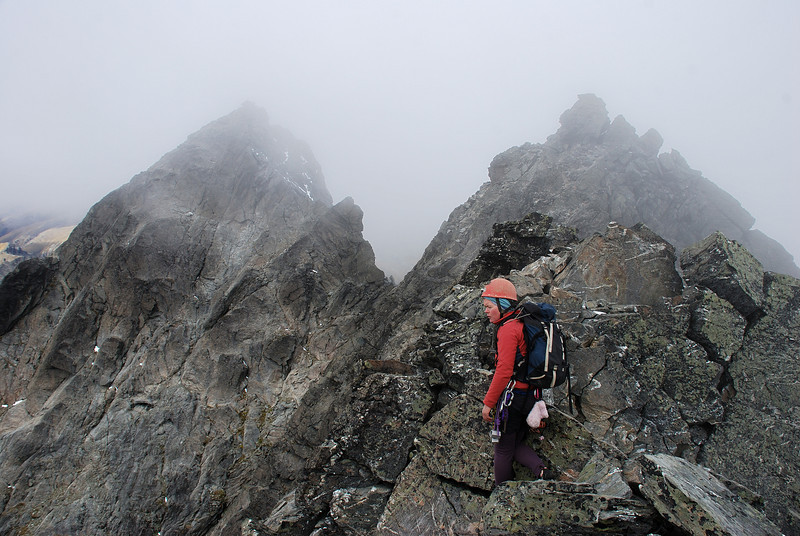 On the first summit of Double Cone