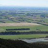Canterbury Plains from Little Mt Peel