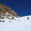 Descending from Mt Somers to Pinnacles Hut