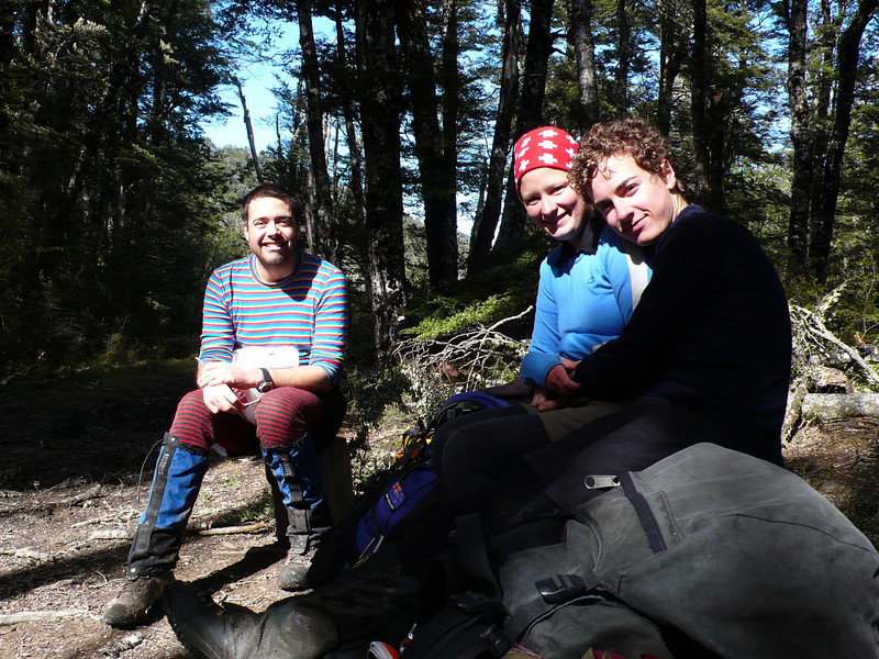 The team on Wharfedale Saddle