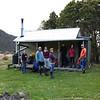 The team at Aparima Base Hut