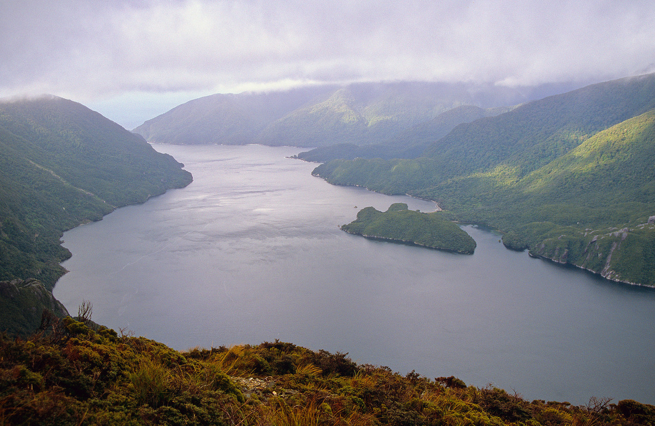 Thompson Sound from the top of Astelia Spur