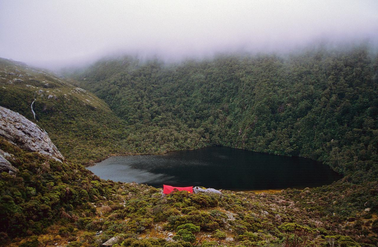 Campsite at Lake Astelia