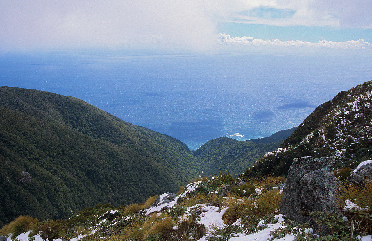 Looking north-west from All Round Peak