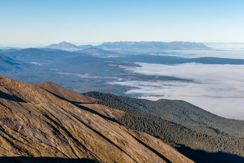 Mount Hamilton and Takitimu Mountains from Annick Peak