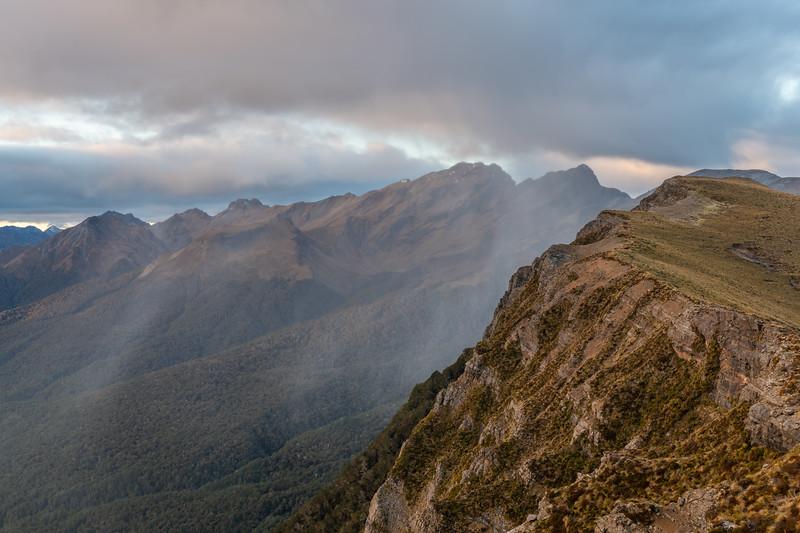 Mount Eglinton from End Peak