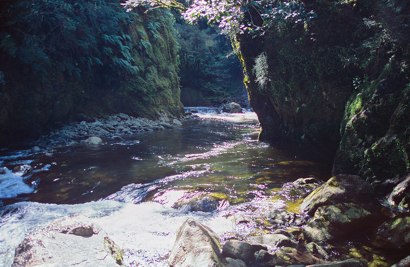 The start of the gorge