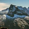 Mills Peak, Sheerdown Peak, Mt Grave, Paranui Peak