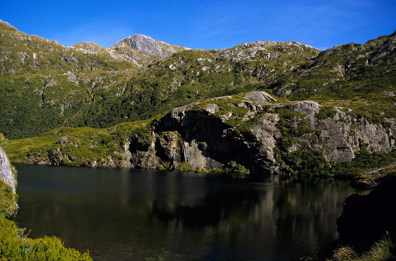 The lake below Robin Saddle