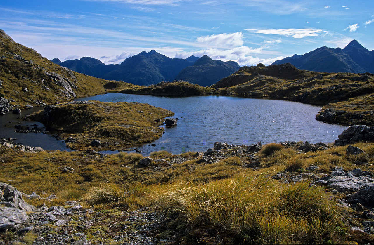 Tarn on Robin Saddle