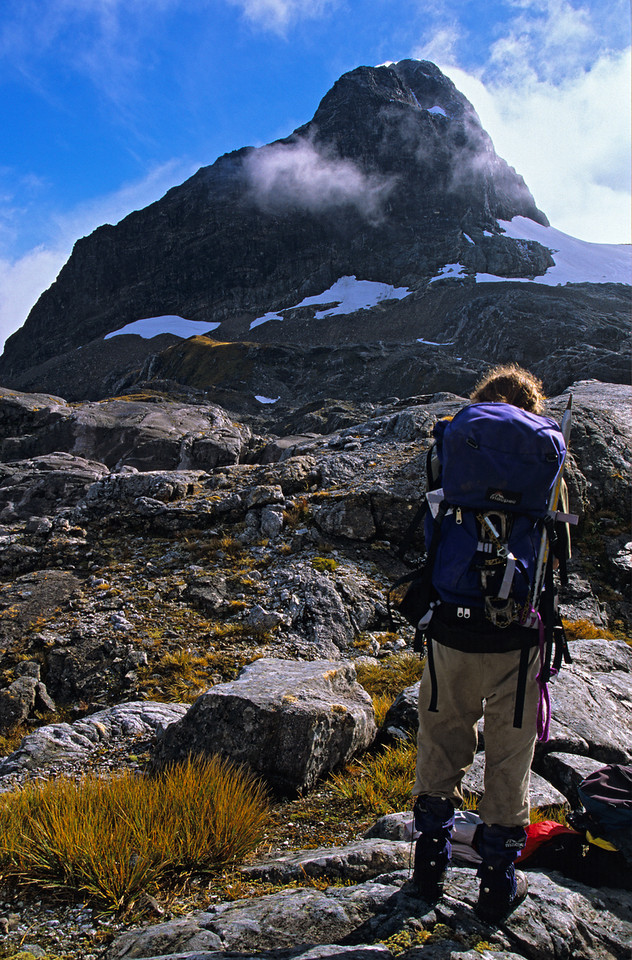 Approaching Mt Irene