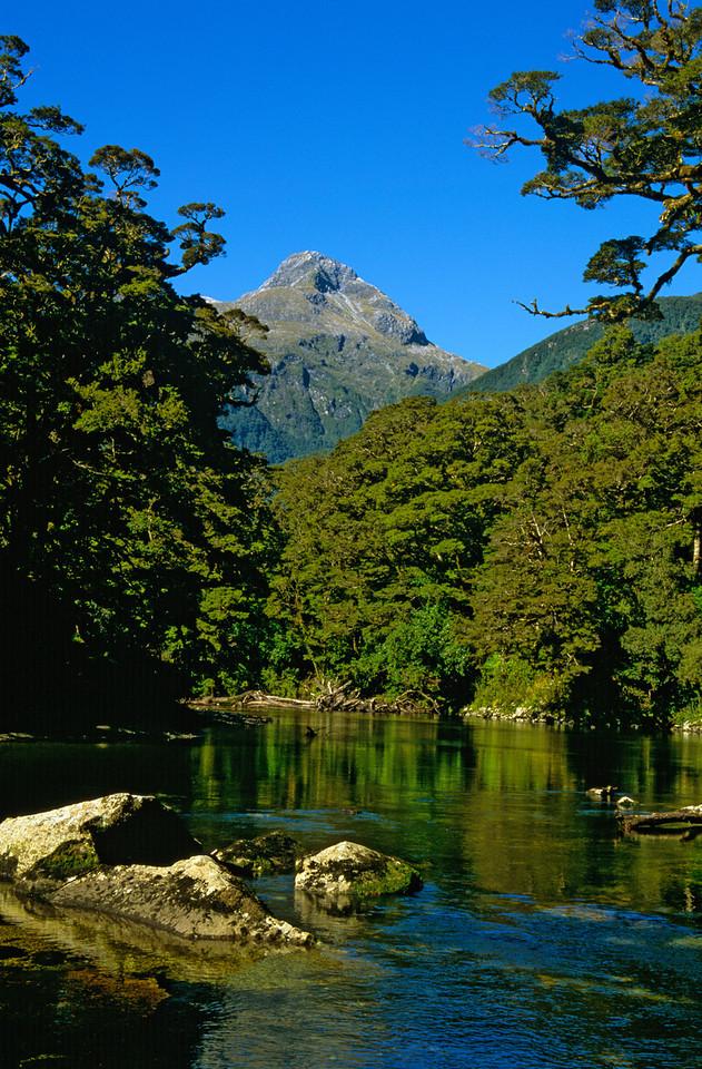 Camelot River and Mt Fannin