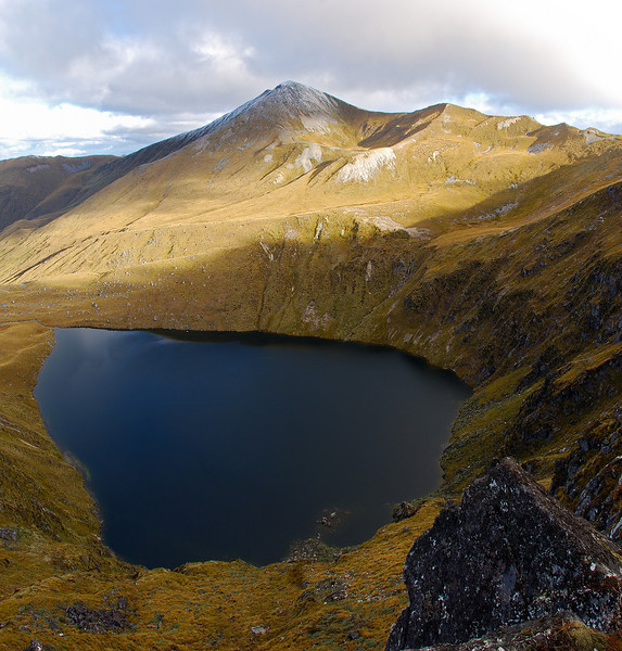 Cleughearn Peak and the Devils Punchbowl