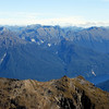 26. The head of Lake Te Anau from Disappearing Peaks; Mt Irene on the far left