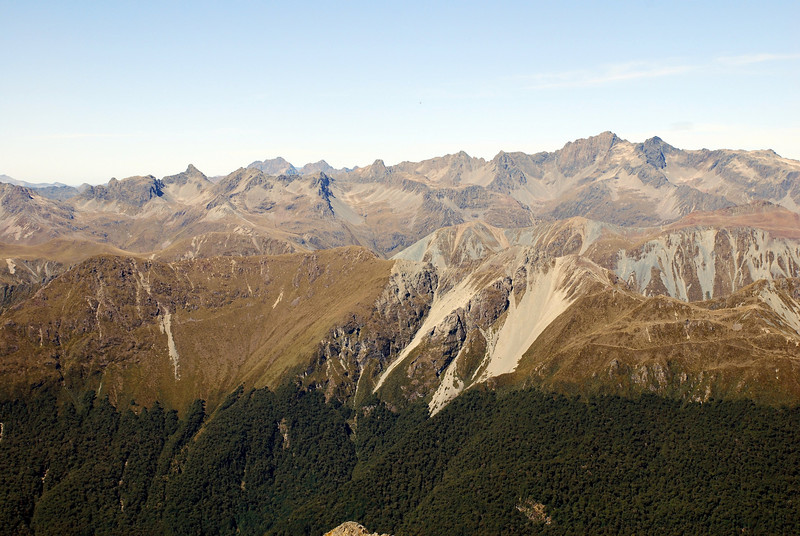 22. The Livingstone Range from the top of Disappearing Peaks