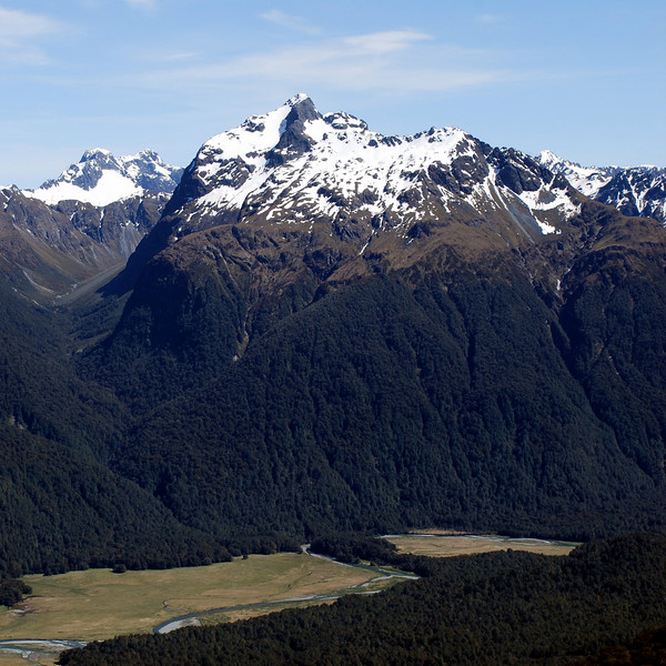 01. Disappearing Peaks as seen from Kiosk Creek Tops