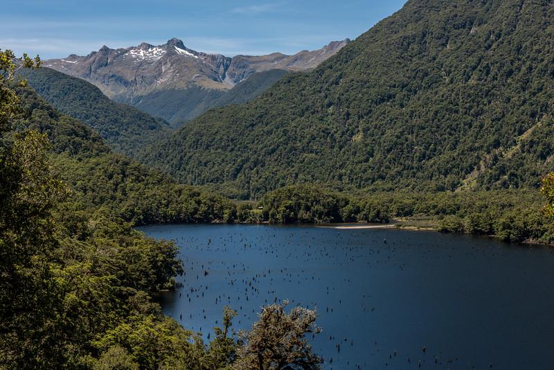 Loch Maree and Unnamed Peak Pt 1723m, Merrie Range