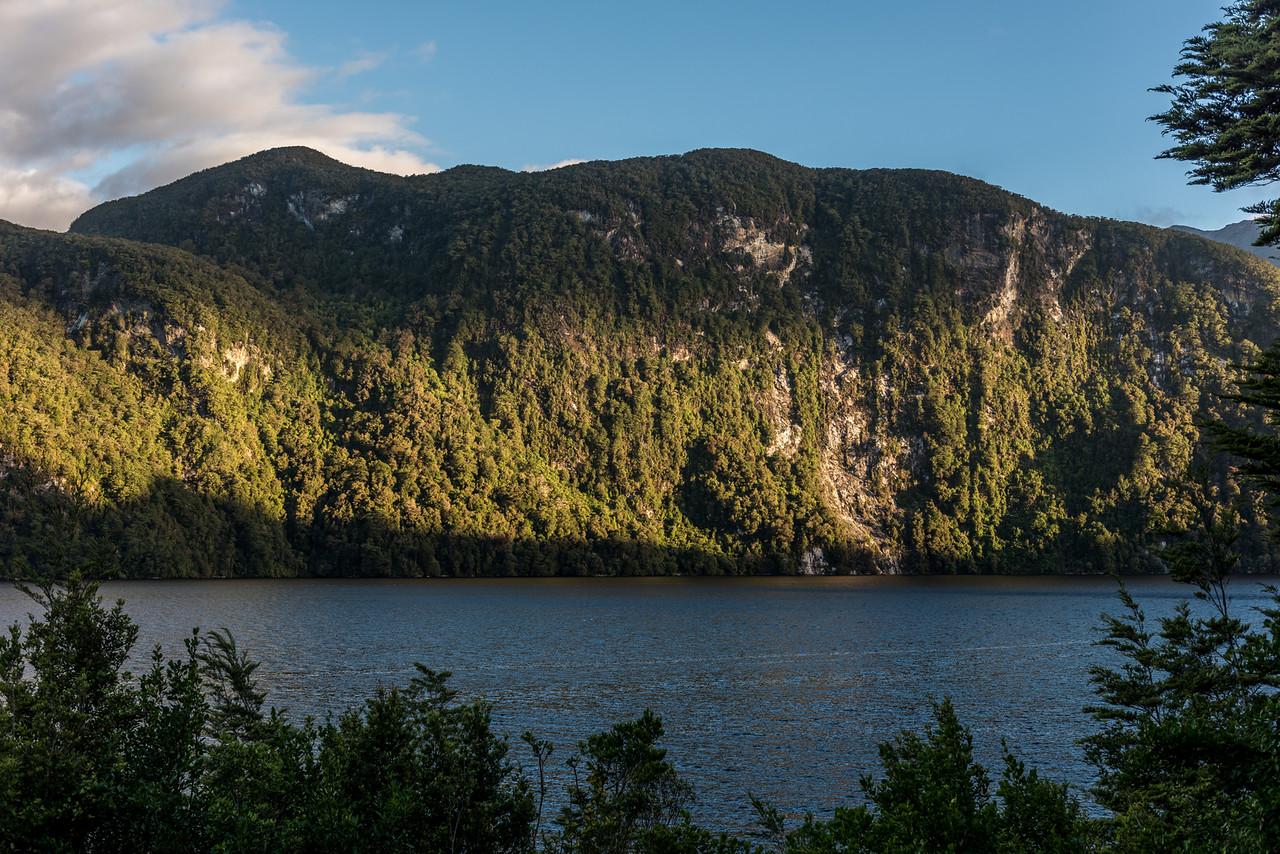 Duncans Seat. Supper Cove, Dusky Sound.