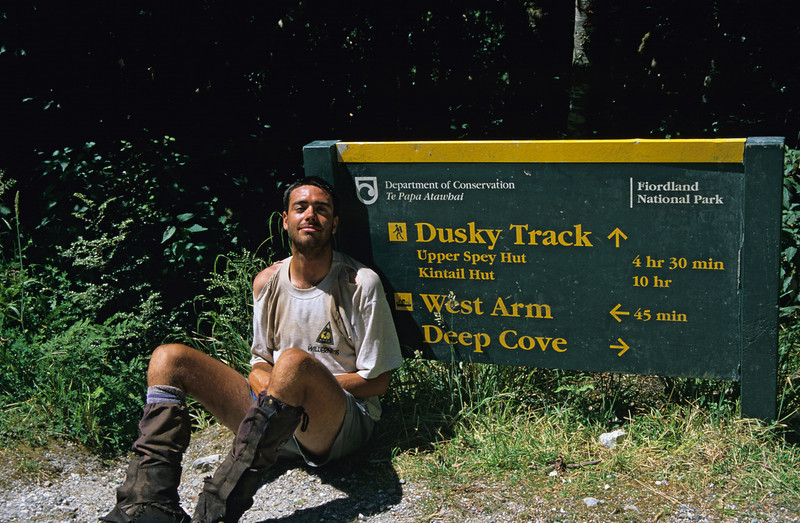 Survived the Dusky Track - but my t-shirt didn't!