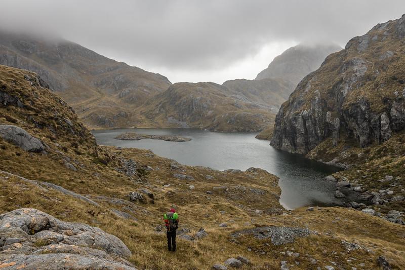 Lake Tuaraki and Fowler Pass