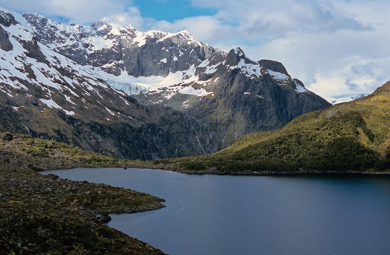 Lake Adelaide and Mount Tuhawaiki