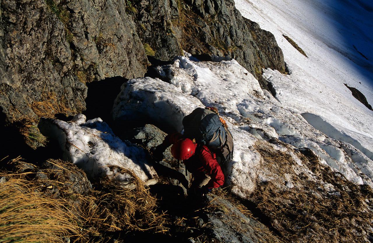 Climbing Giffords Crack