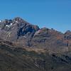 Jean Batten Peak route topo, from Key Summit