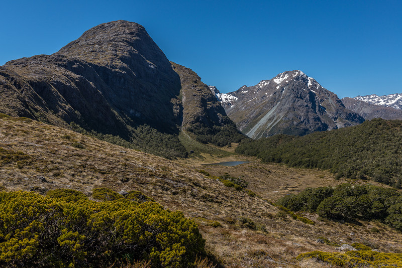 Pt 1449m and 1760m, north and east of McKellar Saddle