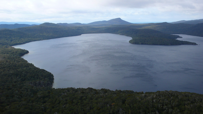 Lake Hauroko from Observation Rock