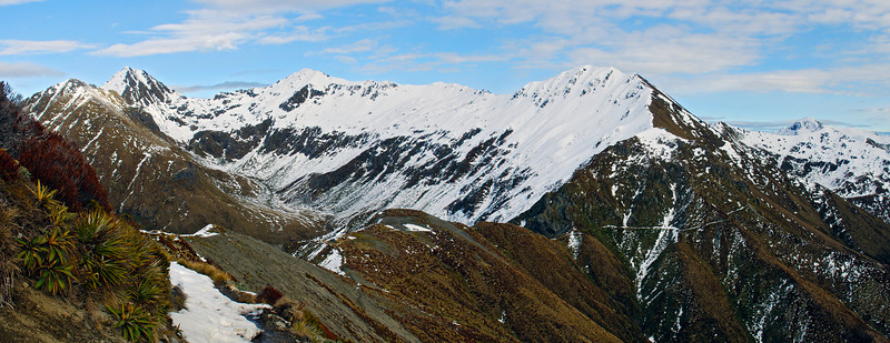 Jackson Peaks from the Kepler Track
