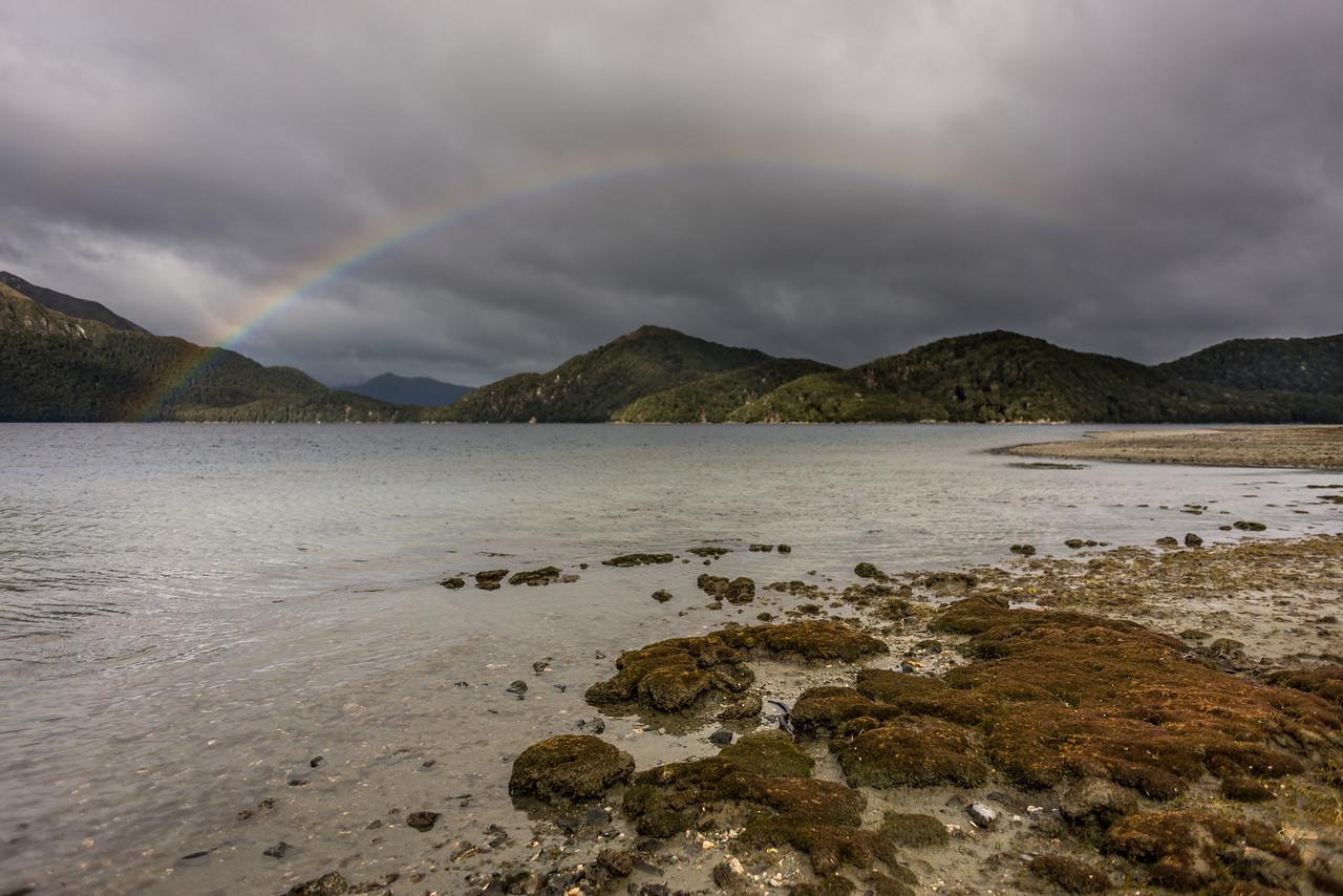 Rainbow over Green Lake