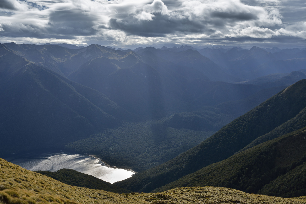 The unnamed valley at the head of Lake Monowai