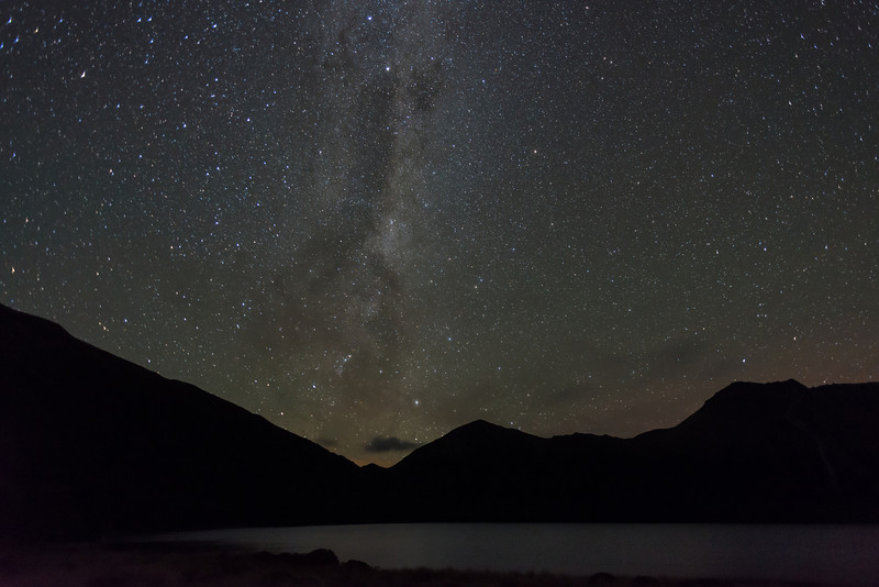 The Milky Way above Green Lake