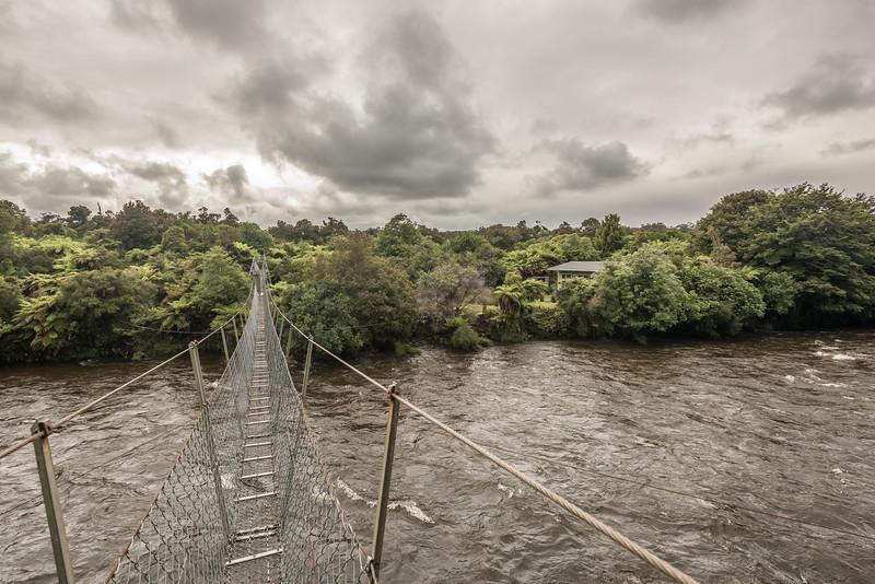 Wairaurahiri Hut and River, South Coast Track.