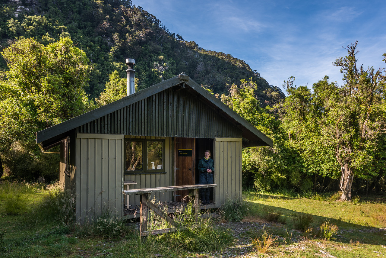 Teal Bay Hut, Lake Hauroko