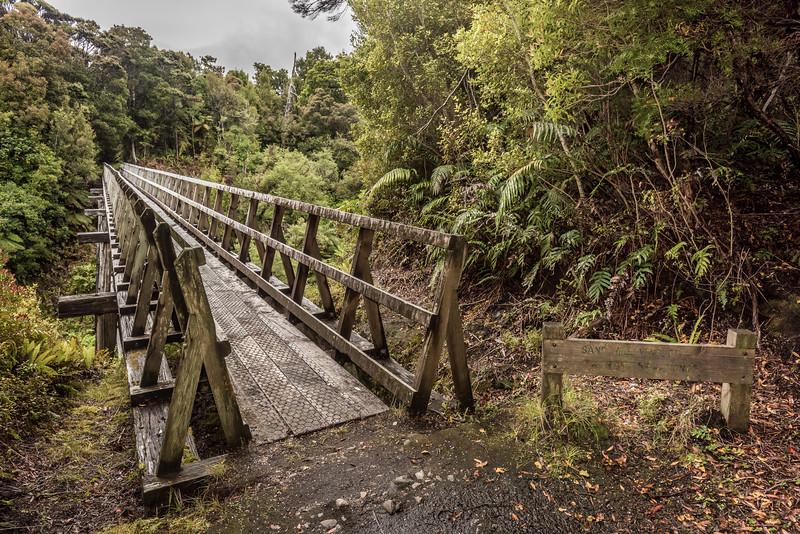 Sand Hill Viaduct, South Coast Track