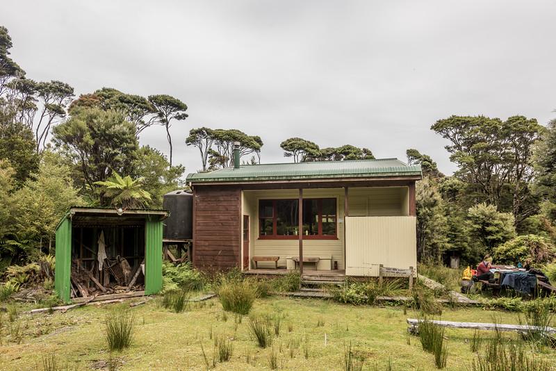 Percy Burn Hut, South Coast Track