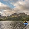 Paddling Lake Monk
